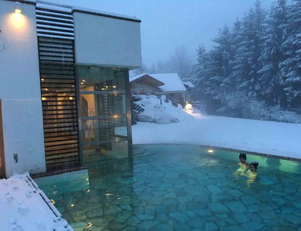Castelir Suite Hotel winter